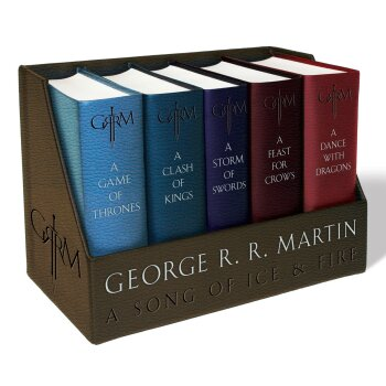 George R. R. Martin's A Game of Thrones Leather-Cloth Boxed Set 冰与火之歌 皮革装订收藏版本 下载