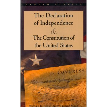 The Declaration of Independence and The Constitution of the United States独立宣言与美国宪法 英文原版 下载