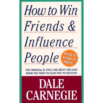 How to Win Friends and Influence People人性的弱点 英文原版  下载