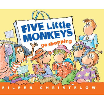 Five Little Monkeys Go Shopping  五只小猴子去逛街 英文原版  下载
