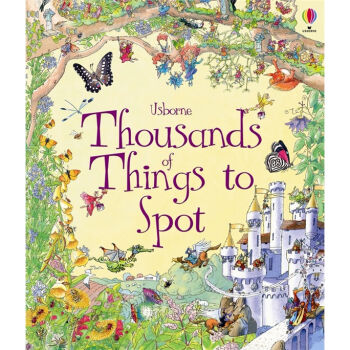 Thousands of Things to Spot (Usborne 1001 Things to Spot) 英文原版  下载