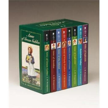 The Complete Anne of Green Gables Boxed Set绿山墙的安妮套装 英文原版  下载