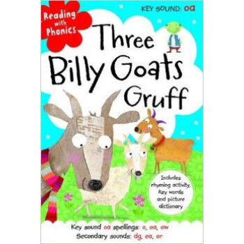 Reading With Phonics Three Billy Goats Gruff    下载