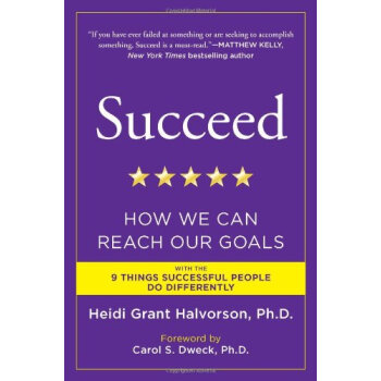 Succeed: How We Can Reach Our Goals 英文原版  下载