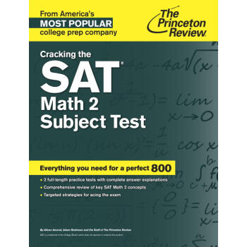 Cracking the SAT Math 2 Subject Test  下载