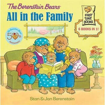All in the Family (Berenstain Bears Series) 英文原版  下载