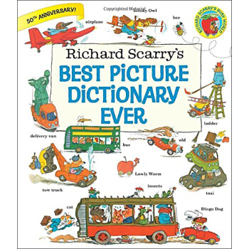 Richard Scarry's Best Picture Dictionary Ever 英文原版 下载